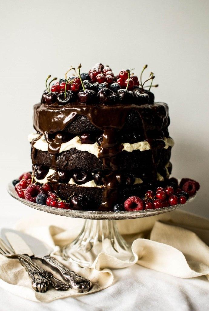 Торт черный лес рецепт с фото