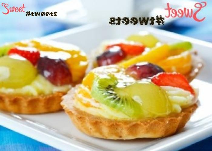 Тарталетка с фруктами и желе