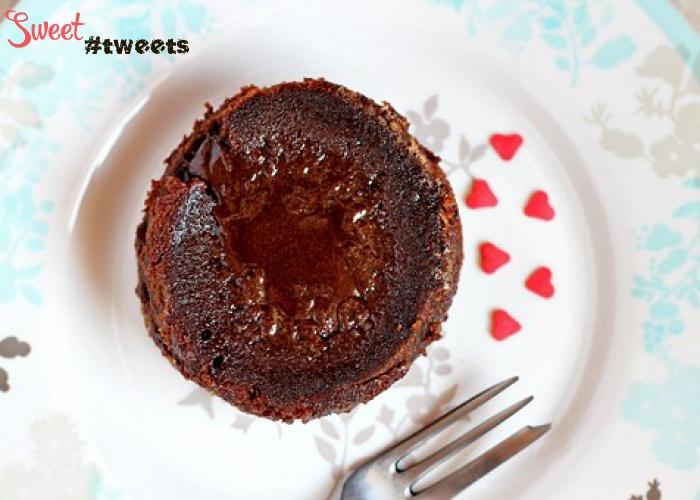 Шоколадный фондан пошаговый рецепт с фото